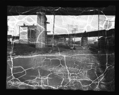 Street Improvement Photographs -- Box 35, Folder 57 (Front Street) -- negative, 1934