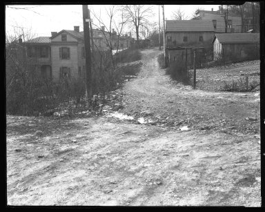 Street Improvement Photographs -- Box 35, Folder 58 (Gabriel Avenue) -- negative, 1927-11-14