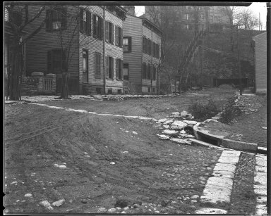 Street Improvement Photographs -- Box 35, Folder 59 (Gage Street) -- negative, 1928