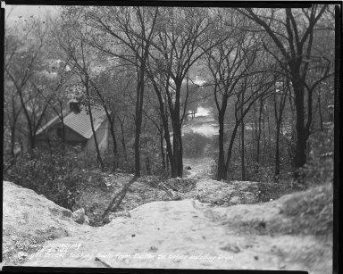 Street Improvement Photographs -- Box 36, Folder 01 (Geiger Street) -- negative, 1942-10-20