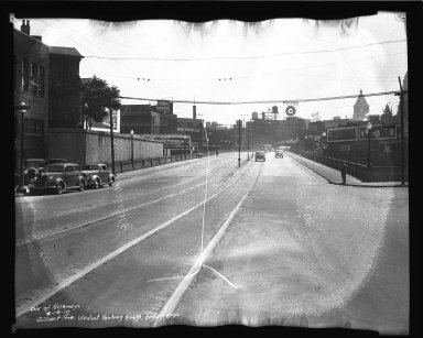 Street Improvement Photographs -- Box 36, Folder 05 (Gilbert Avenue) -- negative, 1937-06-16