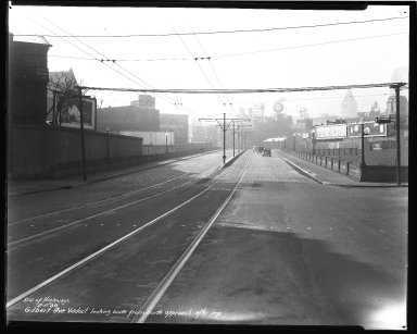 Street Improvement Photographs -- Box 36, Folder 05 (Gilbert Avenue) -- negative, 1938-02-01