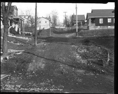 Street Improvement Photographs -- Box 36, Folder 17 (Glen Parker Avenue) -- negative, 1931-01-22