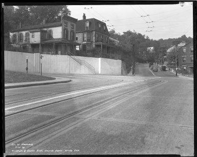 Street Improvement Photographs -- Box 36, Folder 19 (Glenway Avenue) -- negative, 1939-09-14