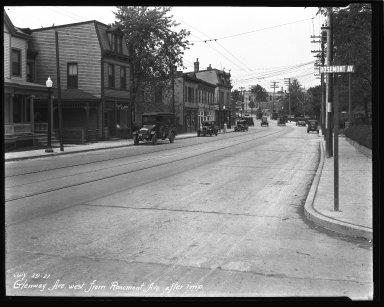 Street Improvement Photographs -- Box 36, Folder 20 (Glenway Avenue) -- negative, 1927-07-29