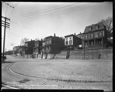 Street Improvement Photographs -- Box 36, Folder 20 (Glenway Avenue) -- negative, 1938-03-21