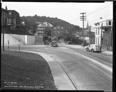 Street Improvement Photographs -- Box 36, Folder 21 (Glenway Avenue) -- negative, 1939-09-14