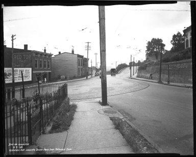 Street Improvement Photographs -- Box 36, Folder 21 (Glenway Avenue) -- negative, 1938-08-08