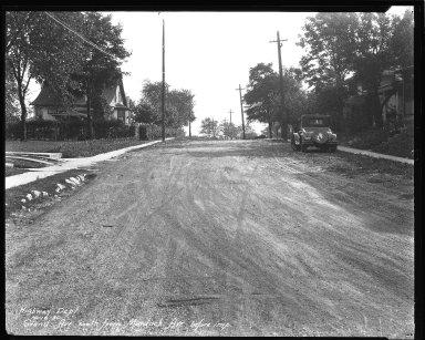 Street Improvement Photographs -- Box 36, Folder 26 (Grand Avenue) -- negative, 1930-10-10