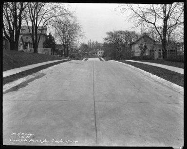 Street Improvement Photographs -- Box 36, Folder 28 (Grand Vista Avenue) -- negative, 1932-01-20