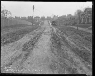 Street Improvement Photographs -- Box 36, Folder 32 (Greenwich Avenue) -- negative, 1930-02-21