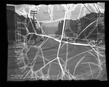 Street Improvement Photographs -- Box 36, Folder 42 (Harrison Avenue) -- negative, 1938-02-23