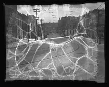 Street Improvement Photographs -- Box 36, Folder 42 (Harrison Avenue) -- negative, 1938-09-22