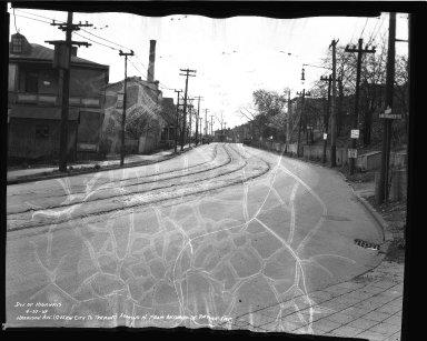 Street Improvement Photographs -- Box 36, Folder 43 (Harrison Avenue) -- negative, 1939-04-27