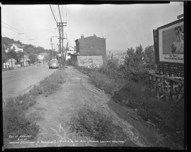 Street Improvement Photographs -- Box 36, Folder 43 (Harrison Avenue) -- negative, 1939-08-31