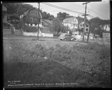 Street Improvement Photographs -- Box 36, Folder 43 (Harrison Avenue) -- negative, 1939-08-31