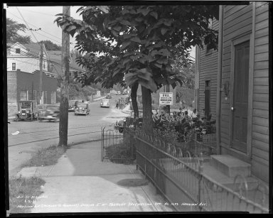 Street Improvement Photographs -- Box 36, Folder 44 (Harrison Avenue) -- negative, 1939-08-31