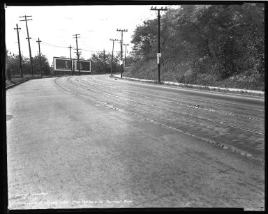 Street Improvement Photographs -- Box 36, Folder 44 (Harrison Avenue) -- negative, 1939-09-13