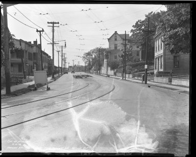 Street Improvement Photographs -- Box 36, Folder 44 (Harrison Avenue) -- negative, 1939-09-13