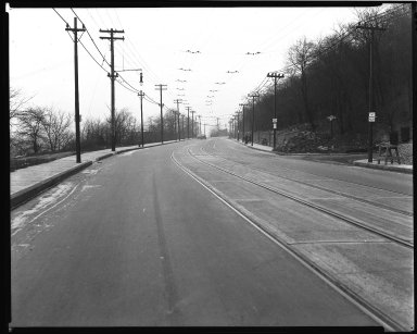 Street Improvement Photographs -- Box 36, Folder 45 (Harrison Avenue) -- negative, 1939