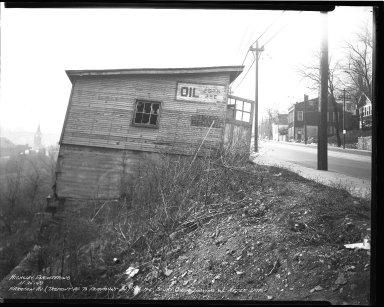 Street Improvement Photographs -- Box 36, Folder 46 (Harrison Avenue) -- negative, 1940-11-25