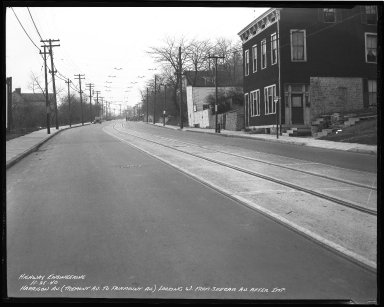 Street Improvement Photographs -- Box 36, Folder 46 (Harrison Avenue) -- negative, 1940-11-25