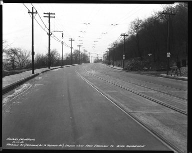 Street Improvement Photographs -- Box 36, Folder 46 (Harrison Avenue) -- negative, 1940-12-20
