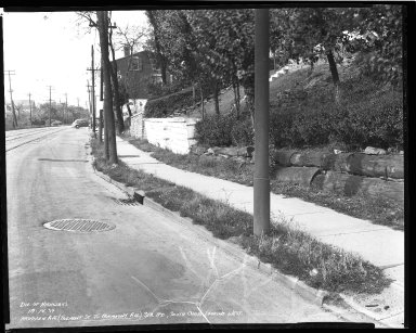 Street Improvement Photographs -- Box 36, Folder 47 (Harrison Avenue) -- negative, 1939-10-14