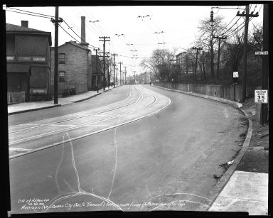Street Improvement Photographs -- Box 36, Folder 47 (Harrison Avenue) -- negative, 1939-12-22