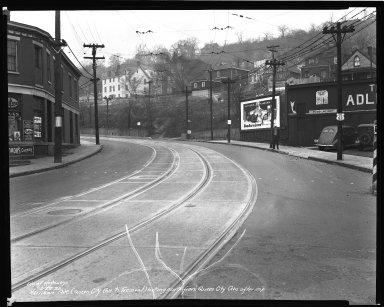 Street Improvement Photographs -- Box 36, Folder 47 (Harrison Avenue) -- negative, 1939-12-22