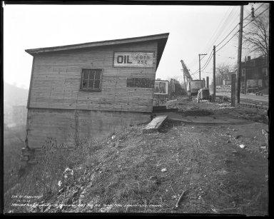 Street Improvement Photographs -- Box 36, Folder 48 (Harrison Avenue) -- negative, 1939-12-07