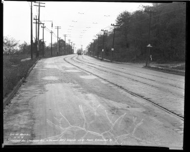 Street Improvement Photographs -- Box 36, Folder 48 (Harrison Avenue) -- negative, 1939-10-10