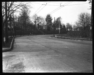 Street Improvement Photographs -- Box 36, Folder 49 (Harrison Avenue) -- negative, 1927-11-15