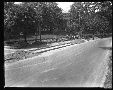 Street Improvement Photographs -- Box 36, Folder 49 (Harrison Avenue) -- negative, 1927