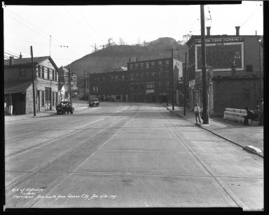 Street Improvement Photographs -- Box 36, Folder 50 (Harrison Avenue) -- negative, 1932-10-28