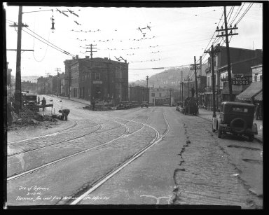 Street Improvement Photographs -- Box 36, Folder 50 (Harrison Avenue) -- negative, 1932-03-12