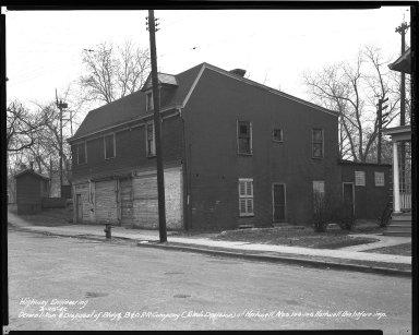 Street Improvement Photographs -- Box 36, Folder 56 (Hartwell Avenue) -- negative, 1942-03-28