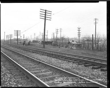 Street Improvement Photographs -- Box 36, Folder 58 (Hartwell Avenue) -- negative, 1948-01-09