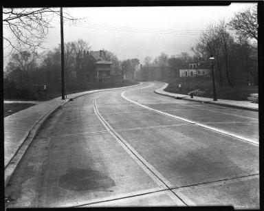 Street Improvement Photographs -- Box 36, Folder 61 (Harvey Avenue Extension) -- negative, 1944