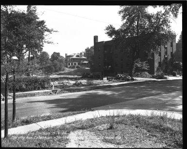 Street Improvement Photographs -- Box 36, Folder 61 (Harvey Avenue Extension) -- negative, 1946-09-04