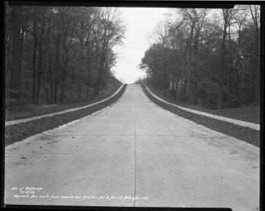 Street Improvement Photographs -- Box 36, Folder 67 (Hayward Avenue) -- negative, 1935-10-19