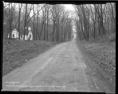 Street Improvement Photographs -- Box 36, Folder 67 (Hayward Avenue) -- negative, 1935-02-07