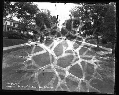 Street Improvement Photographs -- Box 37, Folder 05 (Hereford Avenue) -- negative, 1931-07-27