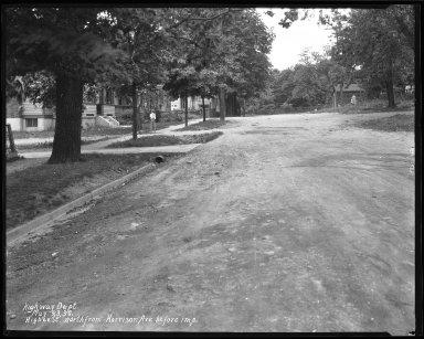 Street Improvement Photographs -- Box 37, Folder 12 (Higbee Street) -- negative, 1930-05-23