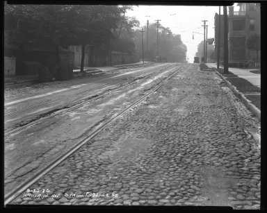 Street Improvement Photographs -- Box 37, Folder 13 (Highland Avenue) -- negative, 1926-09-30
