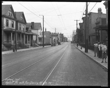 Street Improvement Photographs -- Box 37, Folder 16 (Highland Avenue) -- negative, 1930-05-28