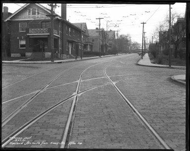 Street Improvement Photographs -- Box 37, Folder 16 (Highland Avenue) -- negative, 1931-03-27