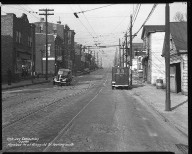 Street Improvement Photographs -- Box 37, Folder 17 (Highland Avenue) -- negative, 1944-01-10