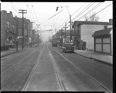 Street Improvement Photographs -- Box 37, Folder 17 (Highland Avenue) -- negative, 1944