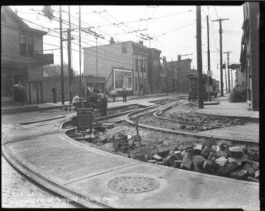 Street Improvement Photographs -- Box 37, Folder 18 (Highland Avenue) -- negative, 1944-09-15